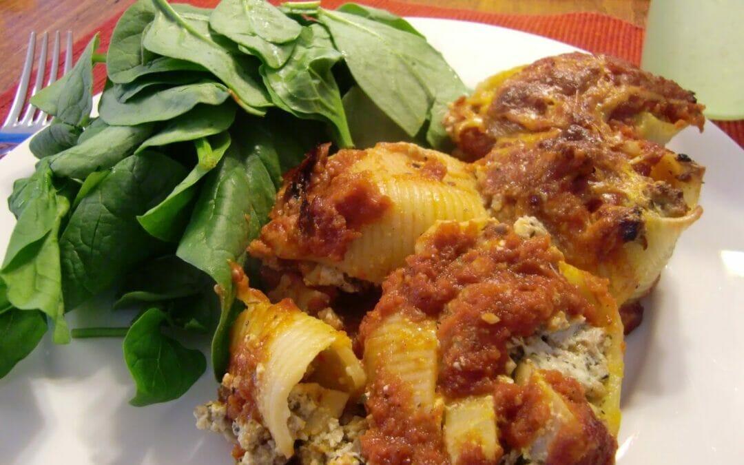 Supper Sunday: Stuffed Pasta Shells