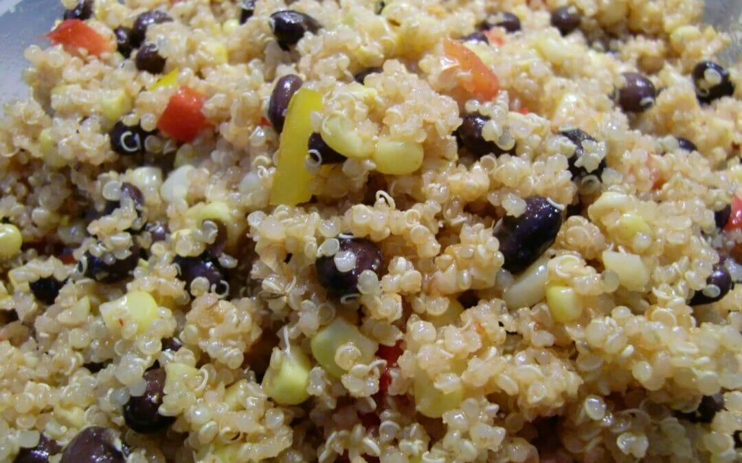 Supper Sunday: Quinoa and Black Bean Salad