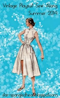Vintage Playsuit Sew-a-long: Post 1 Pattern and Fabrics