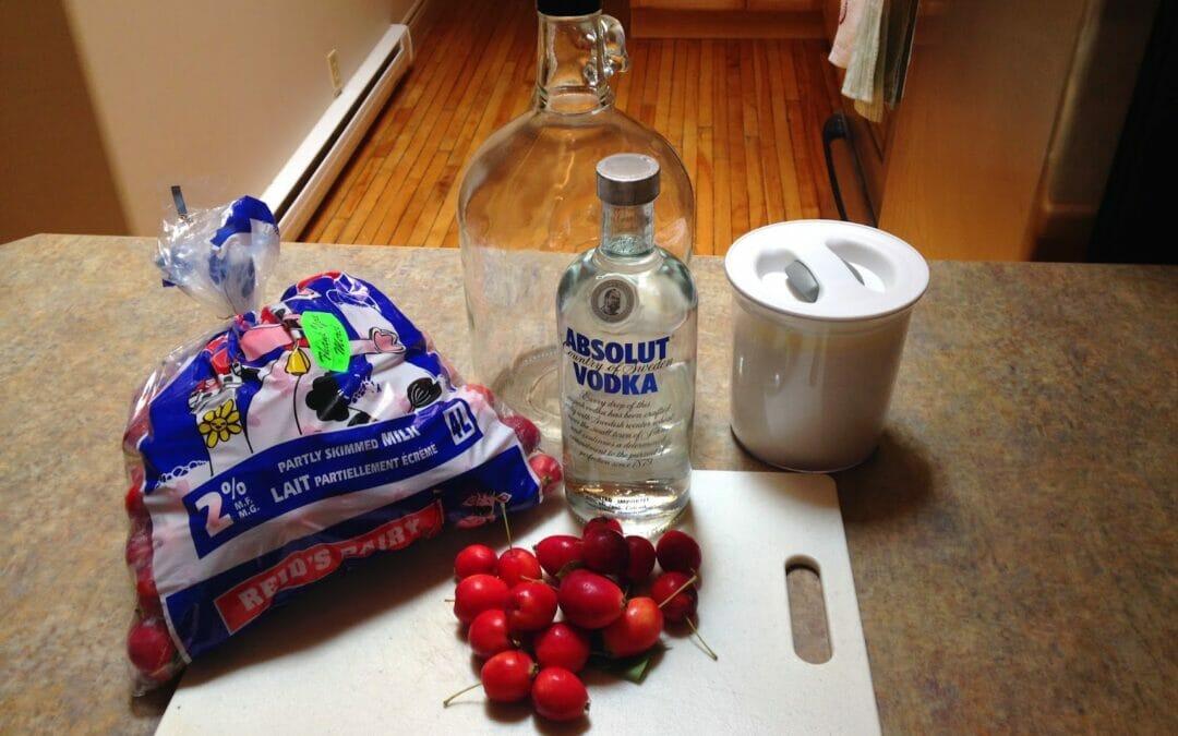 Tipsy Tuesday: Crabapple Liqueur