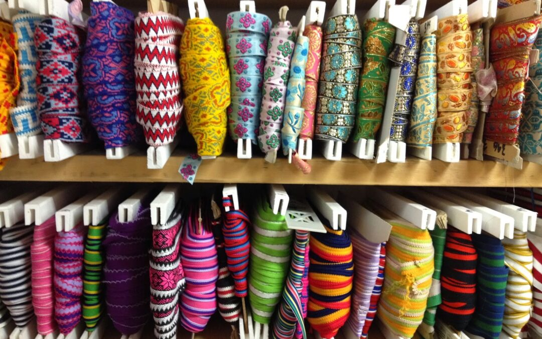 Creative Outing: Toronto Queen st. Fabric shopping!