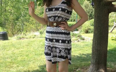 My Tank Dress from Sew Caroline