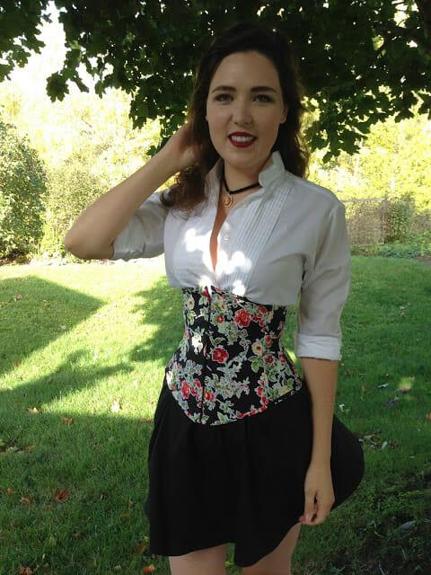 Bra-A-Week [38]: Floral Underbust