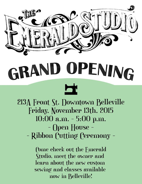 ANNOUNCING: The GRAND OPENING of THE EMERALD STUDIO!!