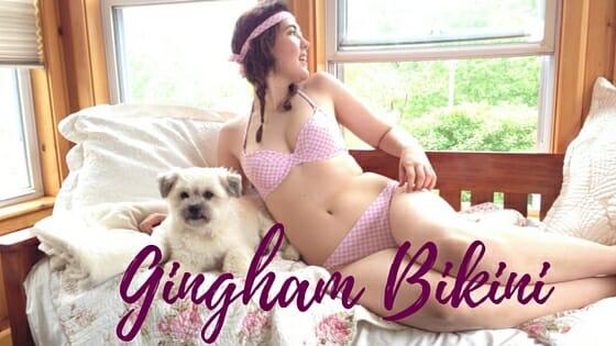 [BAW23]: Gingham Bikini