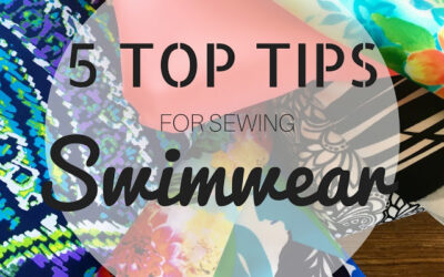 [BAW33]: Top 5 Tips for Sewing Swimwear