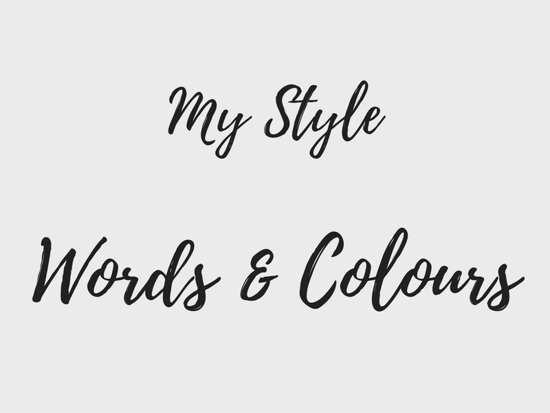 [Style Search]: Words & Colours