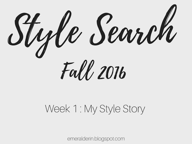[Style Search] Week 1 My Style Story