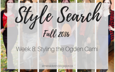[Style Search] Week 8: Styling the Ogden Cami
