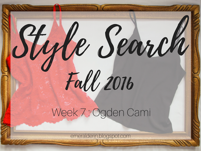 [Style Search] Week 7 The Ogden Cami