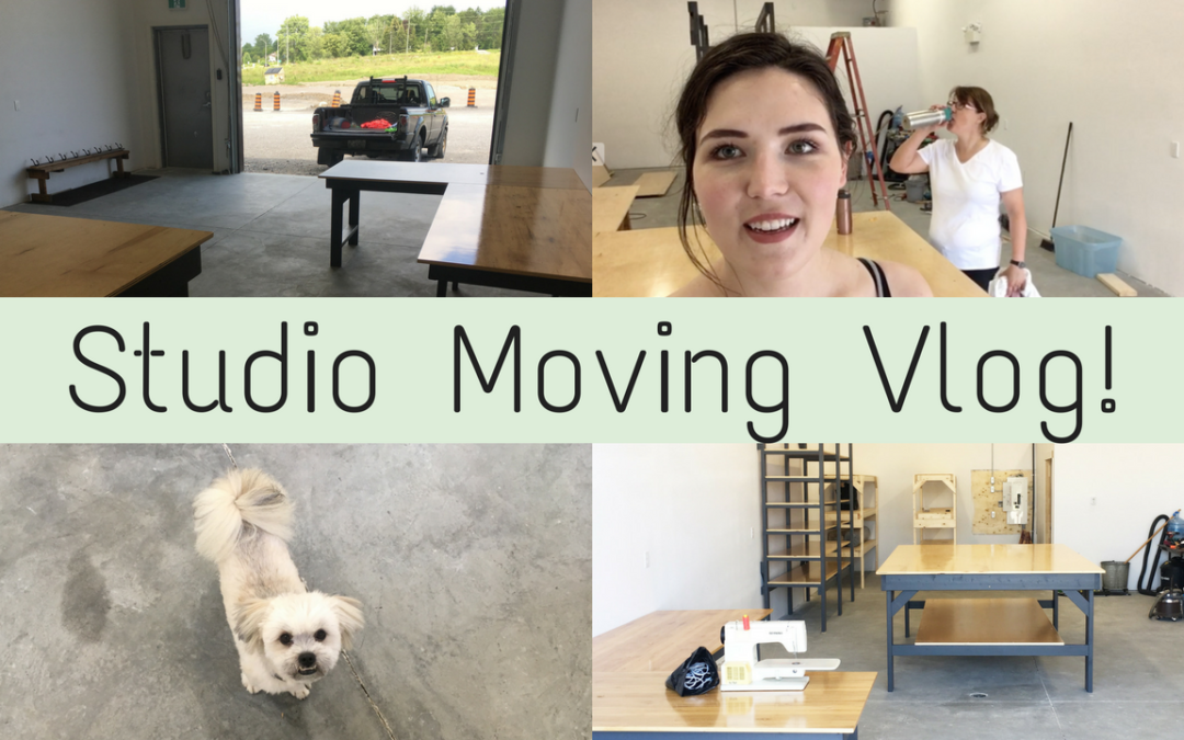 My First Vlog! Moving Studios