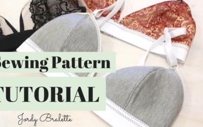 Jordy Bralette Sewing Tutorial | Video